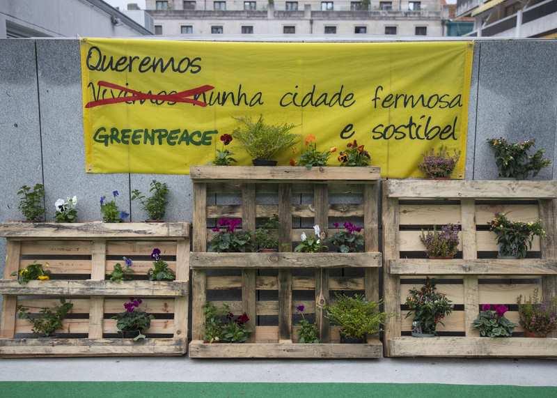 Manoel Santos, coordinador de Greenpeace en Galicia.