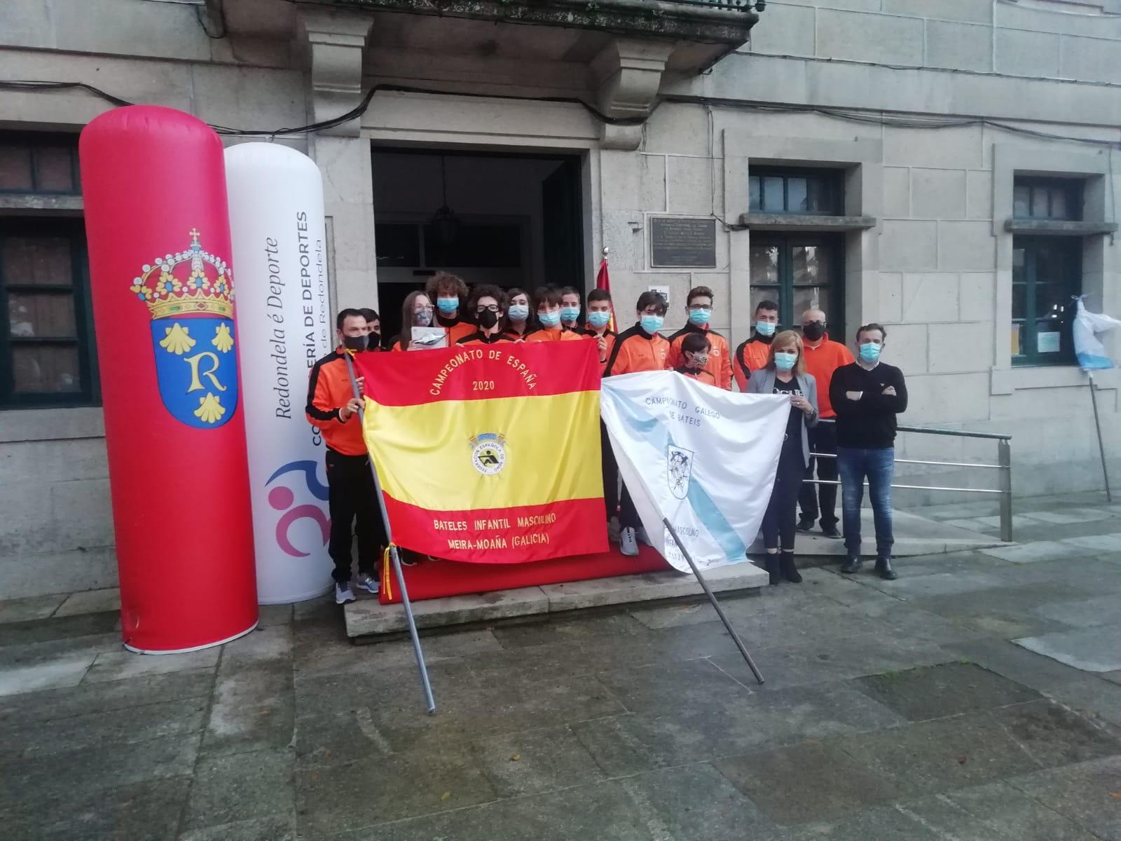 Club Remo Chapela. Campión de España Bateis Infantil Masculino 2020