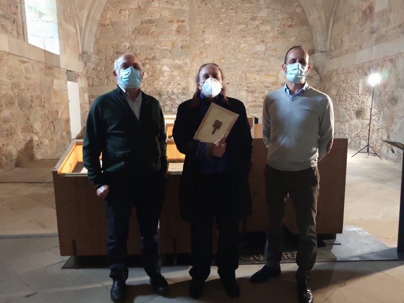 O Mosteiro de Oia fai entrega do seu II Recoñecemento a Javier Costas Goberna