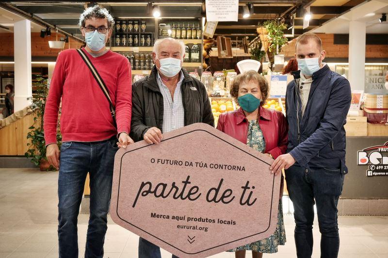 """Presentan en Tomiño """"Parte de ti"""" unha campaña de apoio ao rural baseada nas historias das produtoras e produtores transformadoras do rural"""