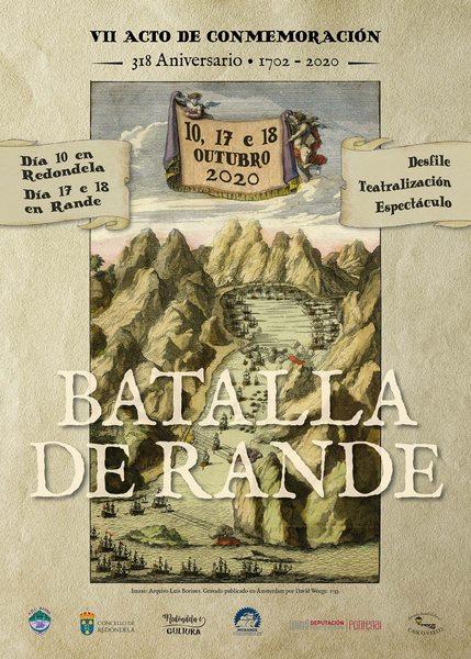 Redondela celebra esta fin de semana 'A Batalla de Rande' rodeada dun estrito protocolo de seguridade sanitaria