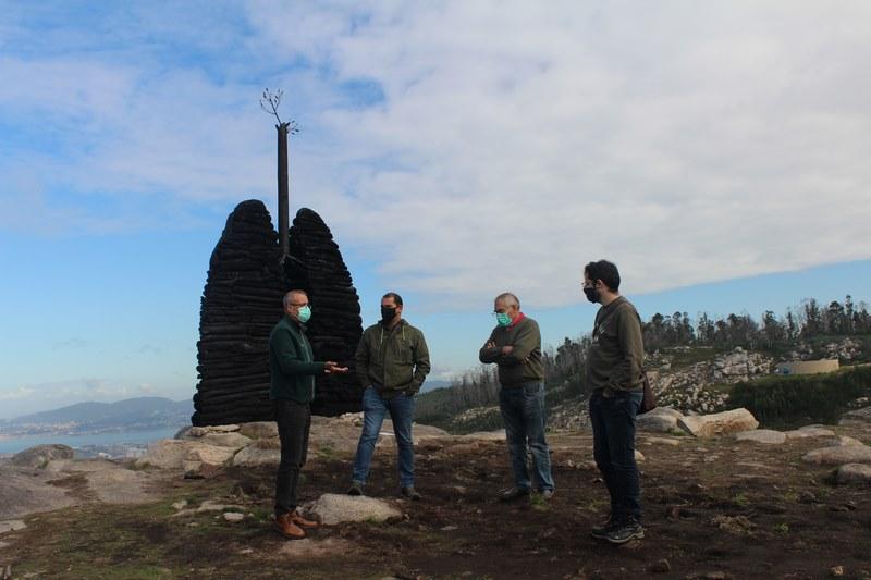Reforestación de Chandebrito e promoción das dúas parroquias como un dos destinos naturais obxectivos do Concello de Nigrán e Comunidade de Montes