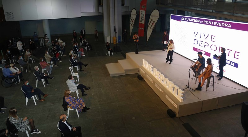 Un total de 226 deportistas da provincia foron os protagonistas da Gala do Deporte da Deputación de Pontevedra
