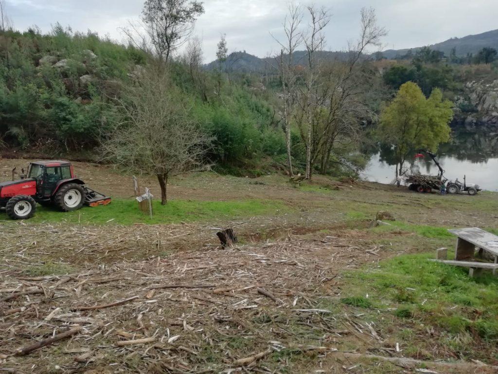 As Neves culmina a primeira fase do proxecto de recuperación ambiental e paisaxística en Porto Maior