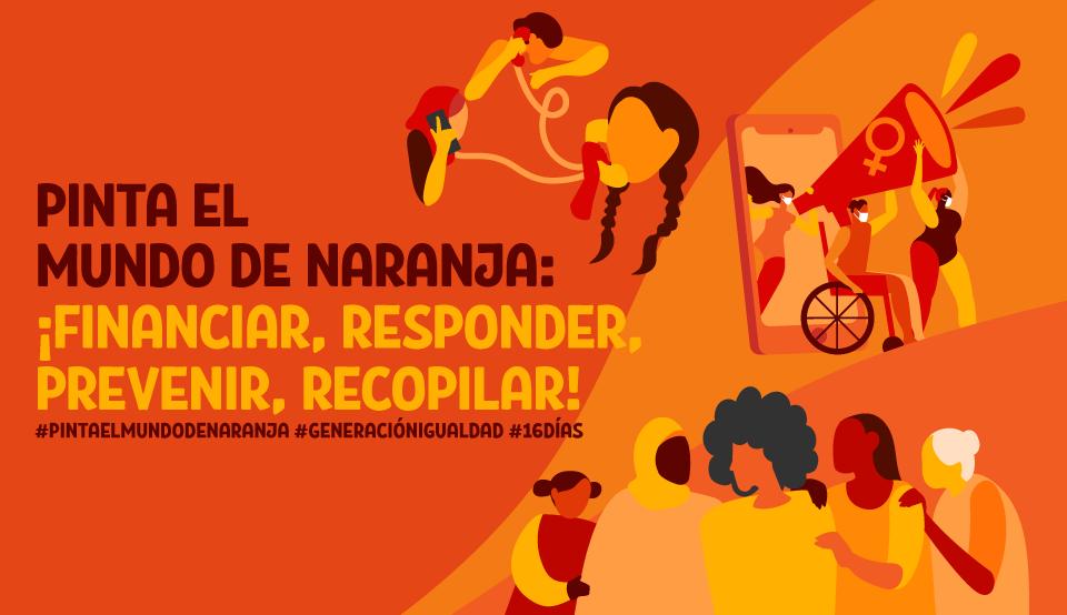 Pinta o Mundo de Laranxa. 16 Días de activismo contra a violencia de xénero