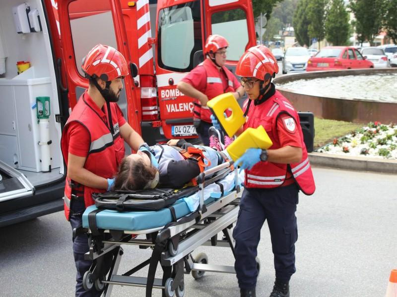 Valença vai compensar aos bombeiros polo traballo voluntario de apoio á comunidade