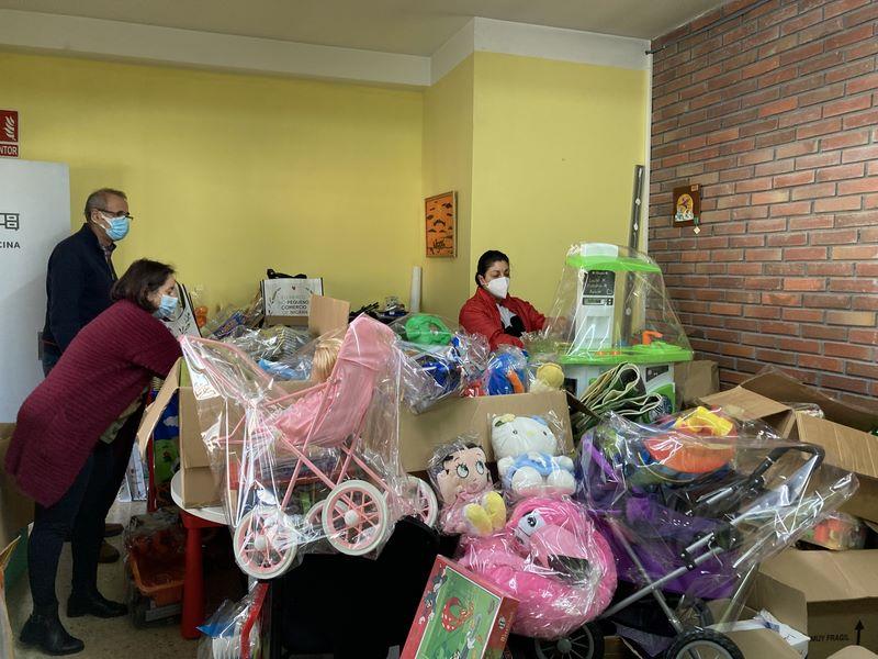 O Concello de Nigrán inicia o reparto de xoguetes recadados e crea un banco municipal para que esté operativo todo o ano