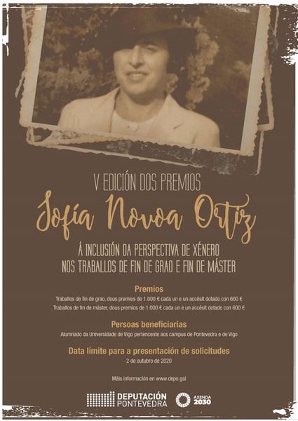 A quinta edición dos Premios Sofía Novoa distingue a catro universitarias do Morrazo