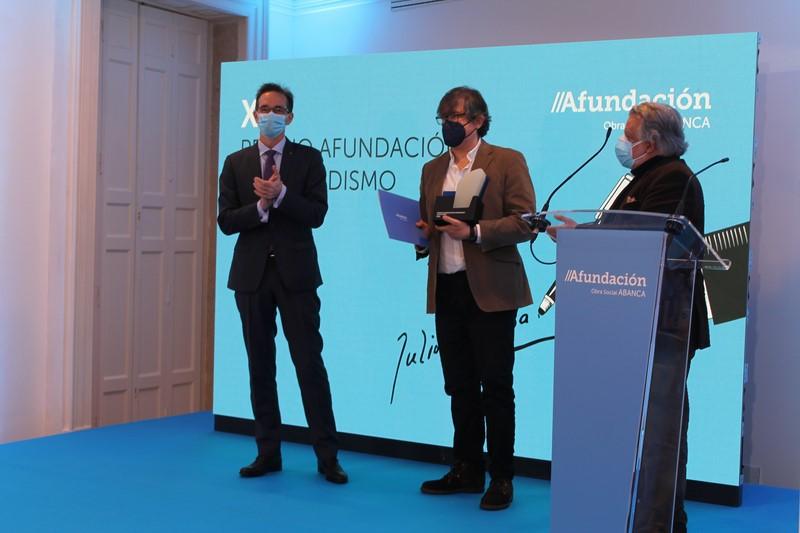Luís Pousa recibe o XLI Premio Afundación de Periodismo Julio Camba