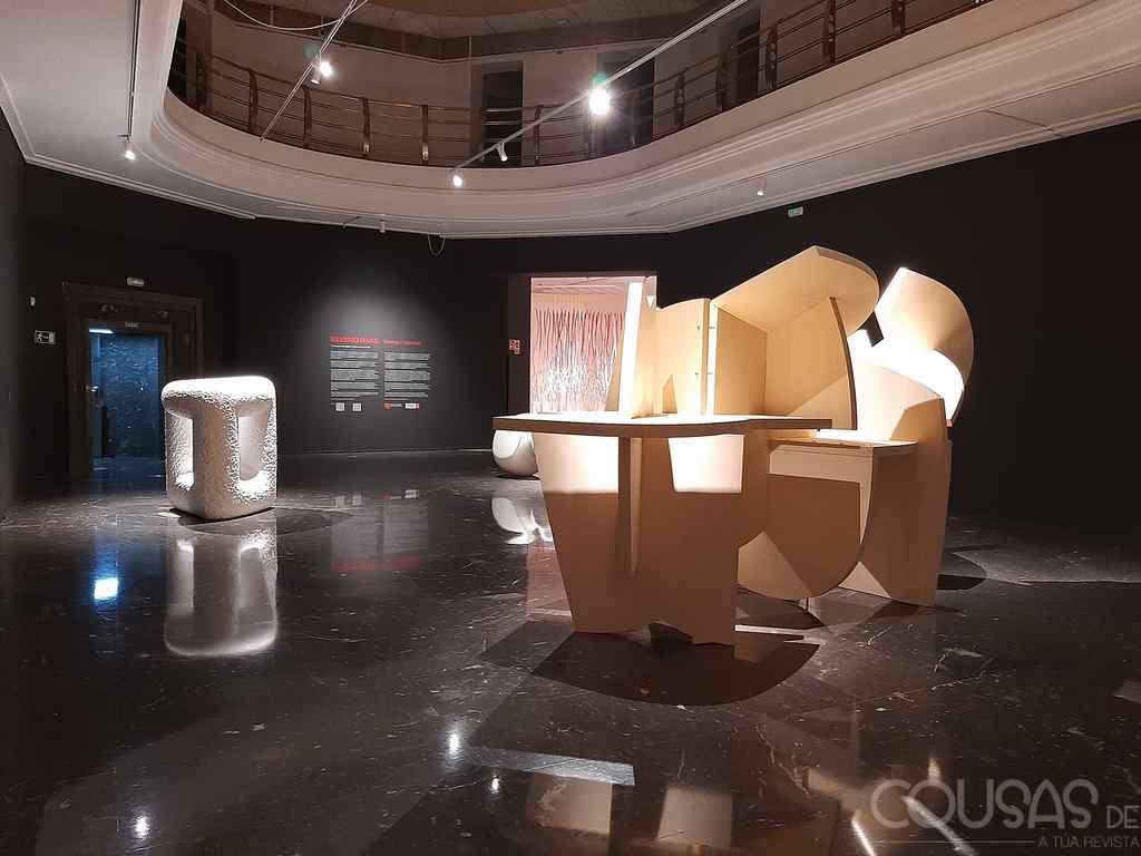 """""""Silverio Ruiz. Mente e Materia"""", unha exposición para gozar do talento de Silverio Rivas"""