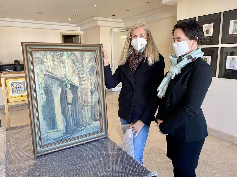 O obradoiro de Eva Fontoira será o encargado de restaurar o Pórtico da Gloria de Villafinez