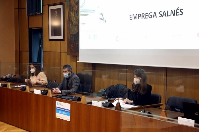 A Xunta impulsa no Salnés a novena edición do Programa Integrado de Emprego para mellorar as oportunidades laborais de 100 persoas