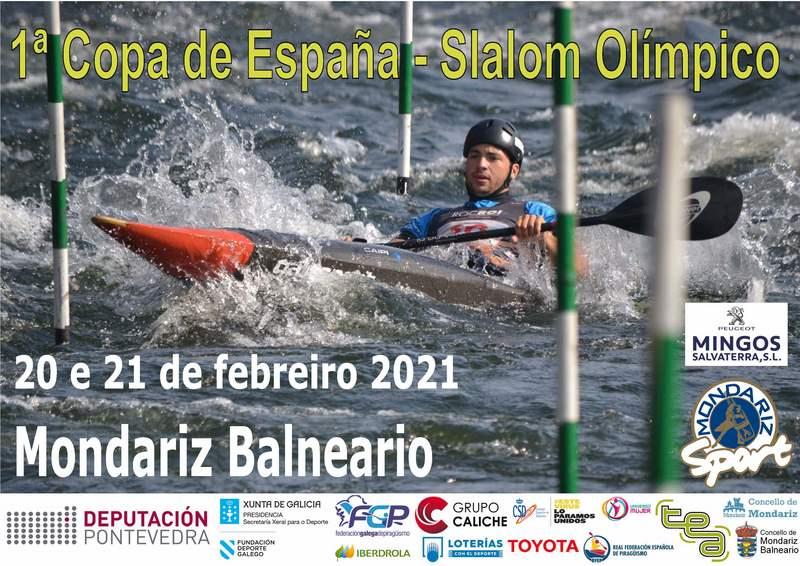 Mondariz Balneario, sede da 1ª Copa de españa de Slalom Olímpico
