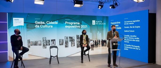 2021 trae ao Gaiás unha vintena de exposicións e intervencións artísticas e un plan de itinerancias por Galicia