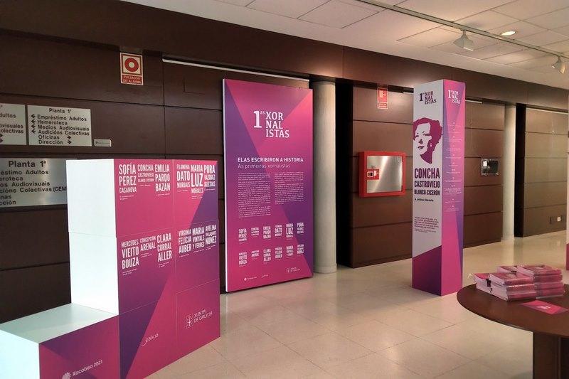 A Coruña.-Unha exposición repasa vivencias e traballo das primeiras mulleres que loitaron pola igualdade desde os xornais e por medio da súa escritura