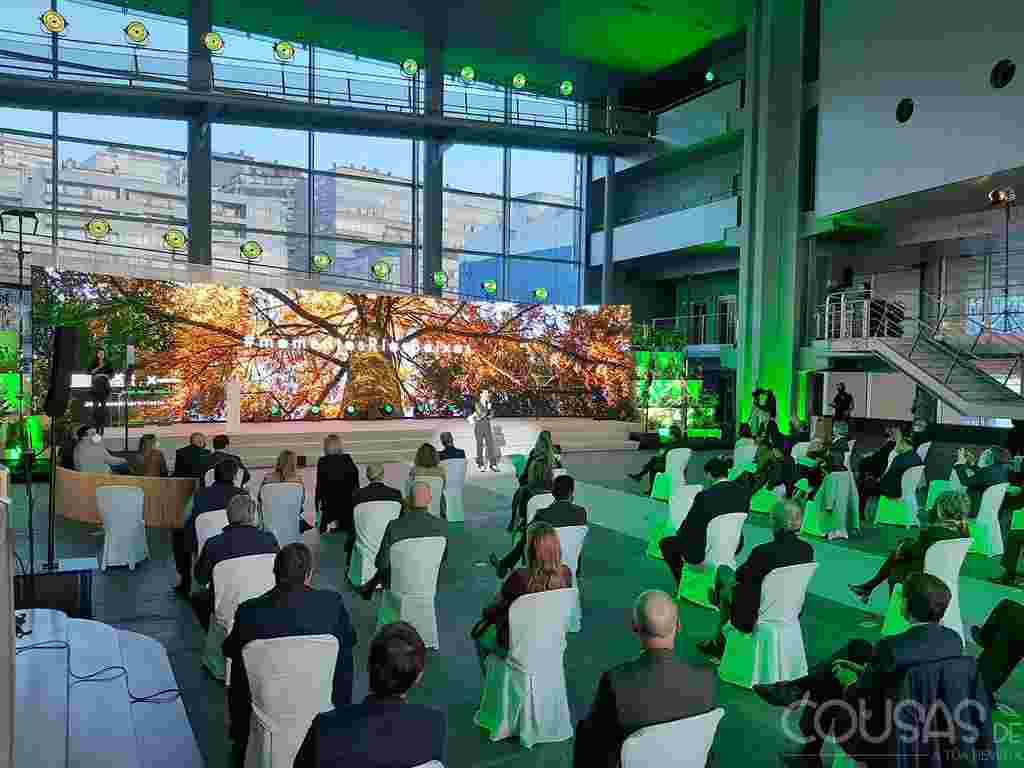 """A Gala de Turismo transforma o """"Mar de Vigo"""" nun gran espectáculo visual e musical para apoiar ao sector e nomear embaixadores aos estrelas Michelin"""