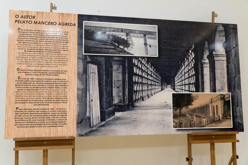Tui conmemora cunha exposición o 135 aniversario da vella ponte internacional