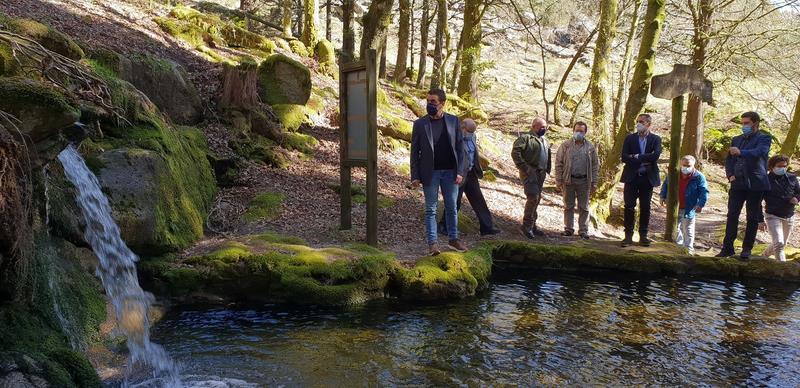 A Xunta reforza os servizos no parque natural do Monte Aloia cunha zona de lecer e biosaudable e a posta en valor da súa senda botánica