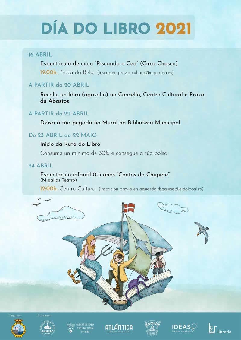 A Guarda celebra o Día do Libro con variadas propostas