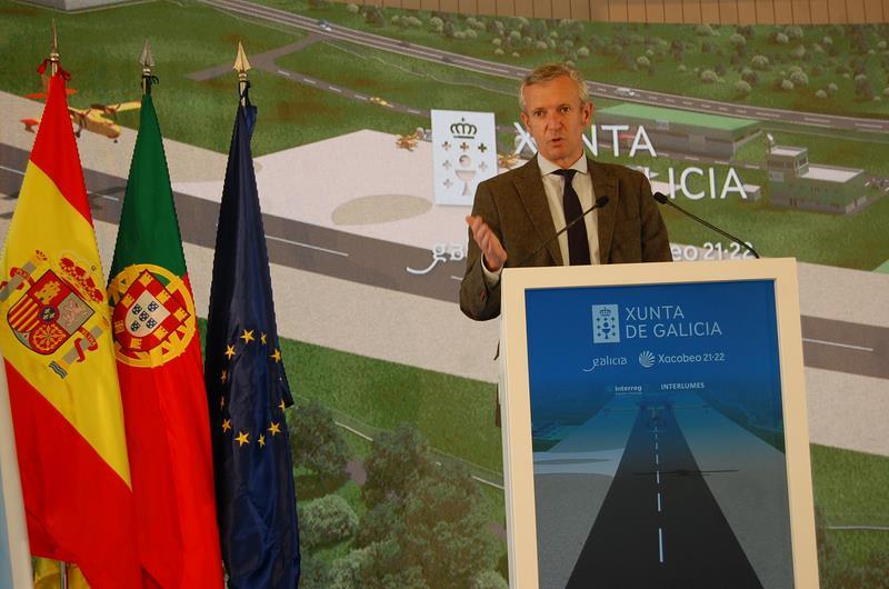 A Xunta impulsa a primeira base aérea transfronteiriza con Portugal para a loita contra os incendios no marco do Interreg