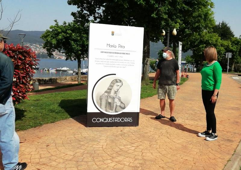 'Conquistadoras' chega a Chapela para permanecer, no paseo marítimo, ata finais abril