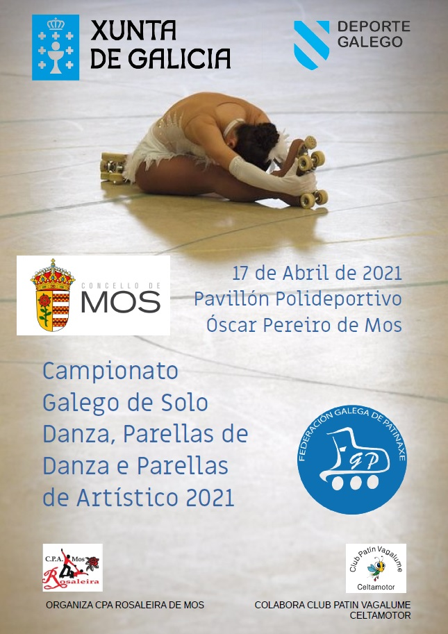 Mos acolle o Campionato Galego de Solo Danza, Parellas de Danza e Parellas de Artístico 2021