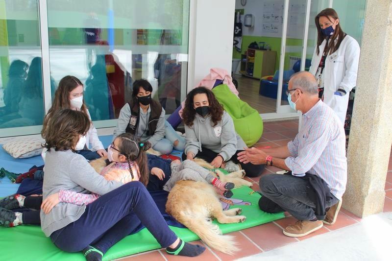 Nigrán ofrecerá terapia canina para o Centro Juan María durante todo o vindeiro curso