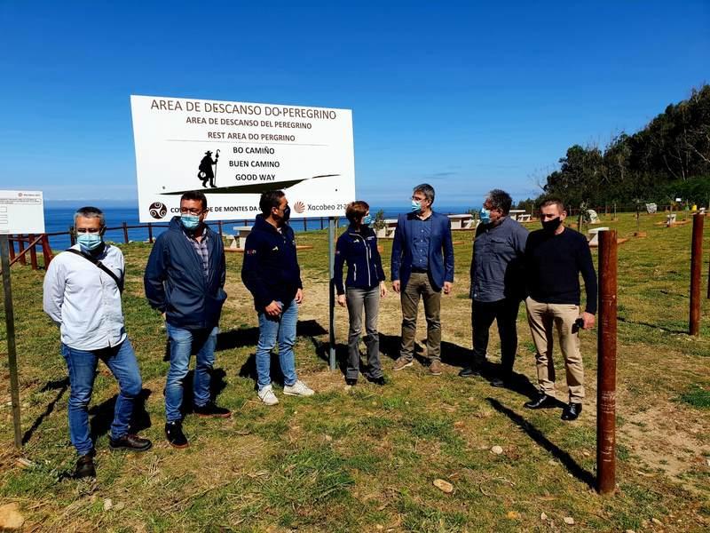 O Camiño Portugués da Costa conta cunha nova área de descanso para peregrinos no seu tramo polo municipio da Guarda