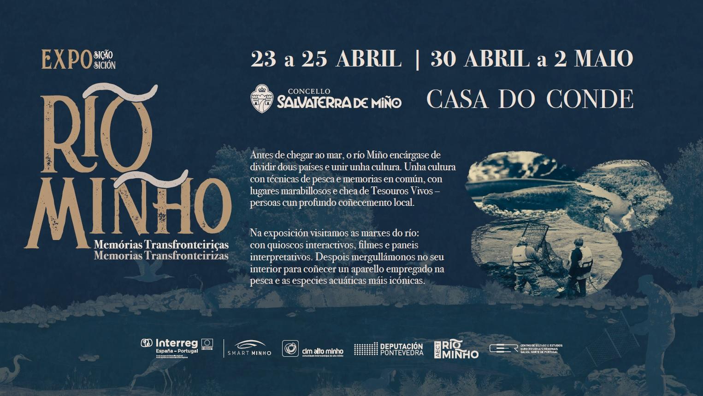 """Chega a Salvaterra a exposición itinerante """"Rio Minho-Memorias Transfronteirizas"""""""