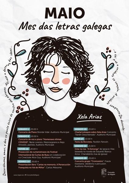 O Día das Letras Galegas celebrarase todo o mes de maio en Nigrán
