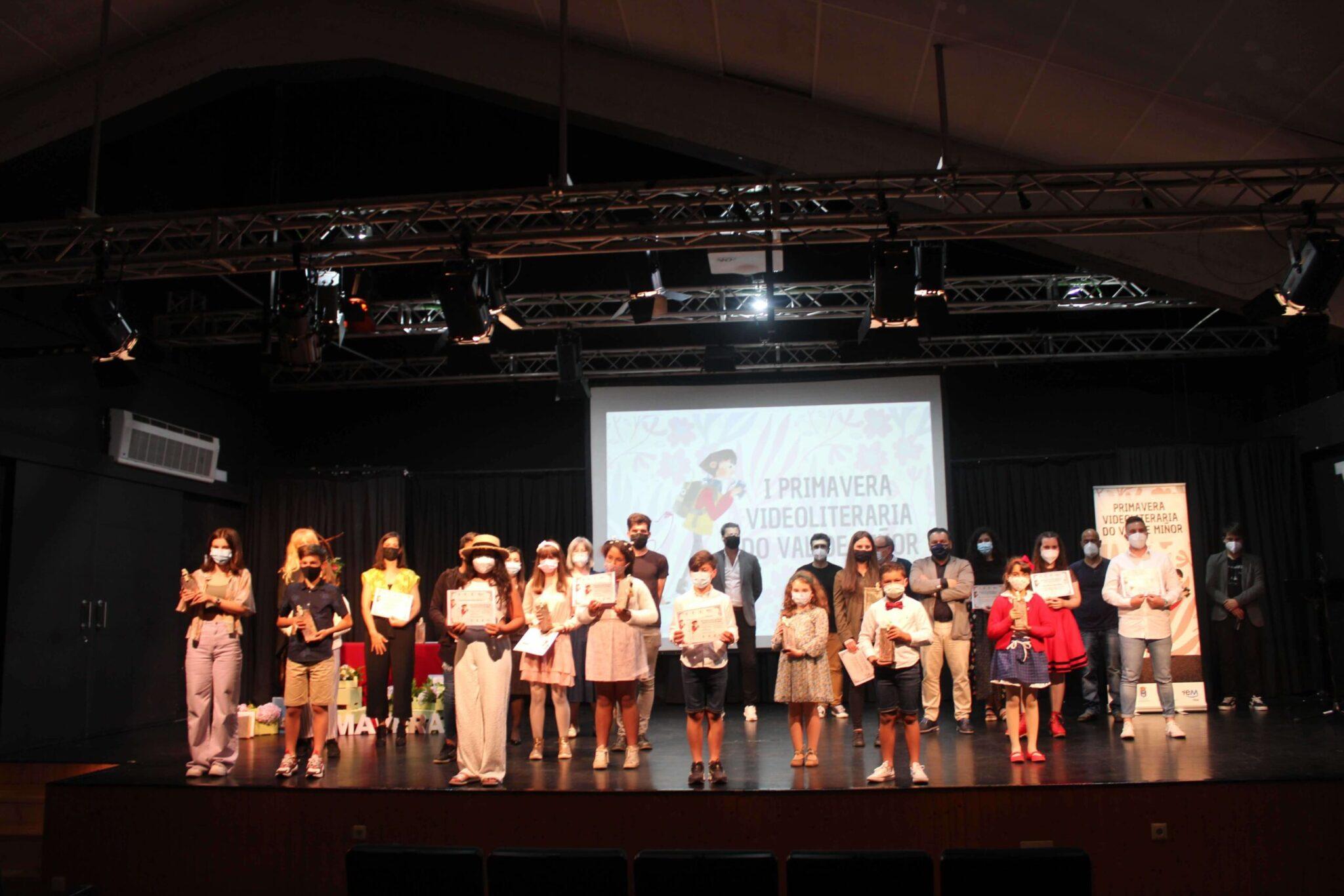 O Val Miñor celebrou a I Gala da Primavera Videoliteraria