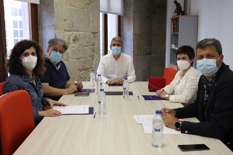 Alcaldes e alcaldesas reclaman melloras no Camiño Portugués da Costa