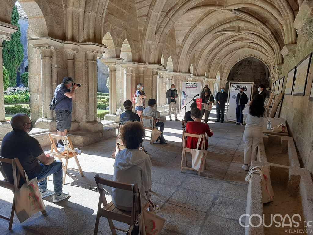 A Catedral de Tui acolle en agosto a XV edición de Música no Claustro que inclúe un foro profesional de instrumentos musicais