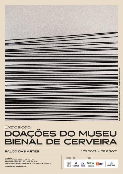 A Fundación Bienal de Arte de Cerveira promove unha exposición coas doazóns máis recentes feitas ao Museo da Bienal