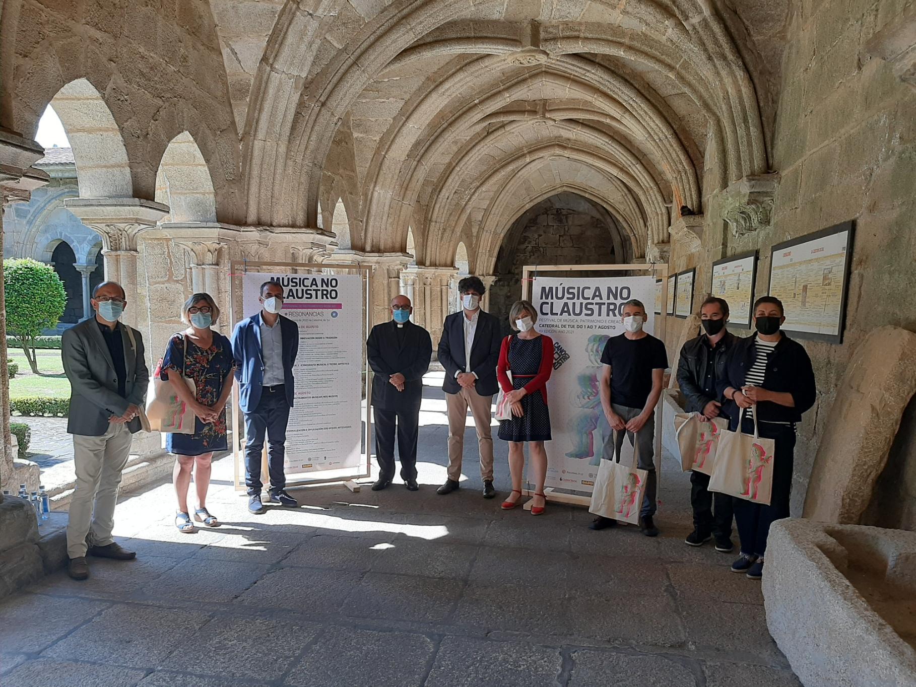 Begoña Riobó e Anxo Pintos, artistas convidados a esta edición do festival.