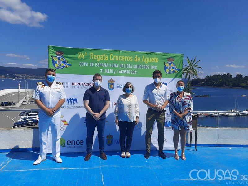 Grandes veleiros sucarán a Ría de Pontevedra na 24ª edición dá Regata de Cruceiros de Aguete