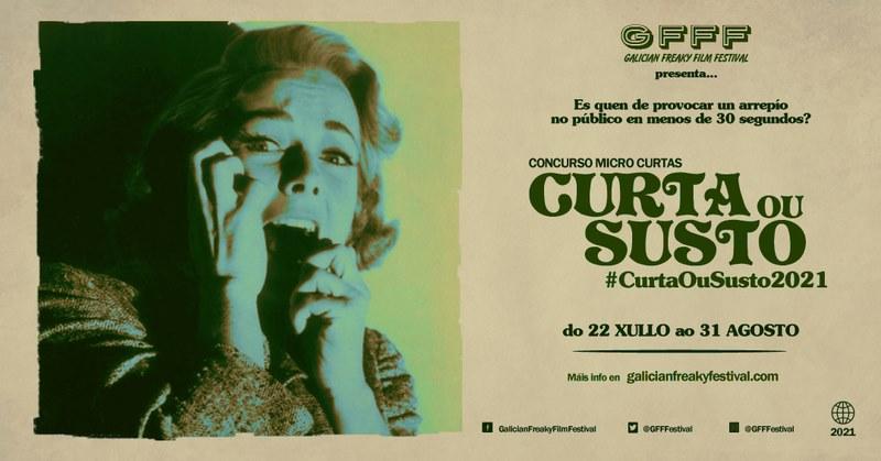 """Volve """"Curta ou susto"""", o concurso de microfilmes de terror do Galician Freaky Film Festival"""