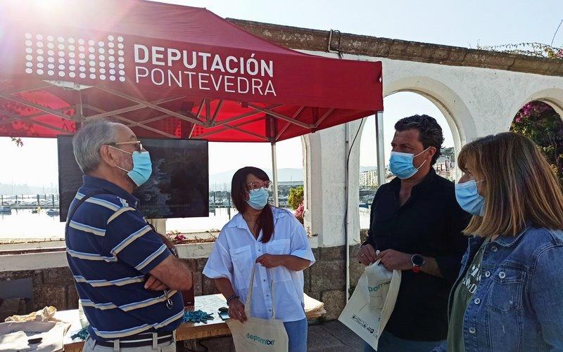 A campaña do proxecto DepoMar recalou en Baiona
