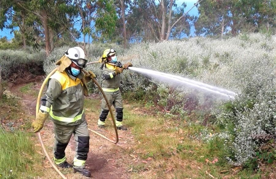A Xunta reforza a loita contra o lume forestal