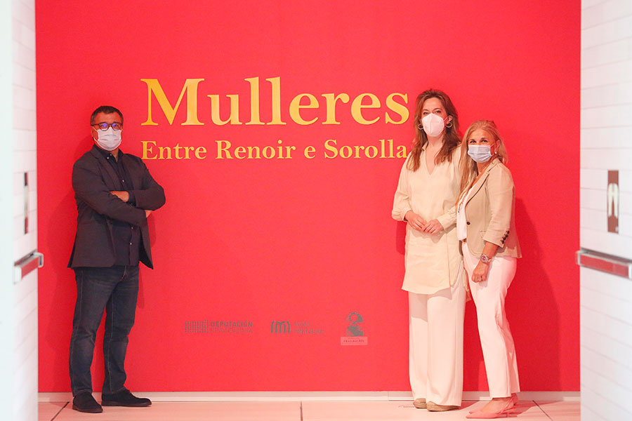 O Museo de Pontevedra pon o feminino como protagonista na exposición 'Mulleres. De Renoir a Sorolla'