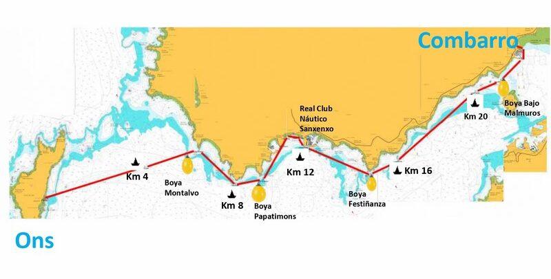 Máis de 120 nadadores participarán na terceira proba da Tripla Coroa Illas Atlánticas, entre Ons e Combarro