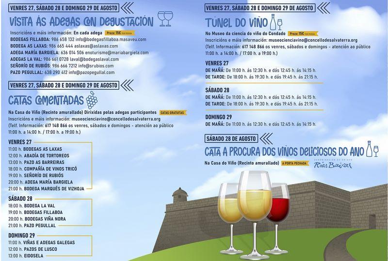 Salvaterra prepárase para a LXII Festa do Viño do Condado do Tea