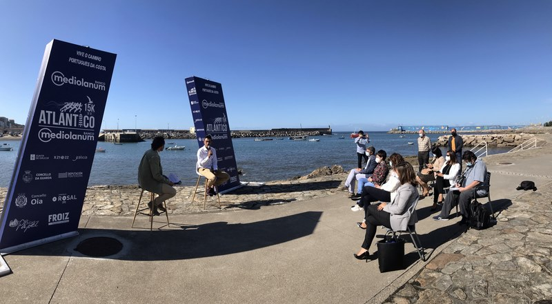 600 participantes percorrerán os 15 quilómetros entre Oia e A Guarda nunha nova edicón da 15K do Atlántic