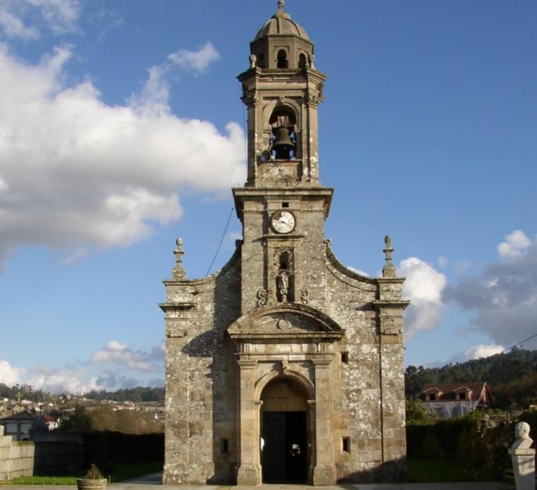 Ribadumia celebra o bicentenario da súa igrexa parroquial