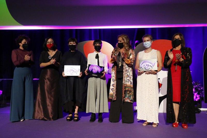 """A I Edición da la """"Mulleres no Foco"""" premia a Margarita Ledo, Noemí Chantada e Sonia Méndez"""