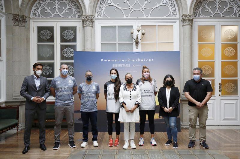 Recepción e recoñecemento ao Mecalia Guardés no Pazo Provincial de Pontevedra