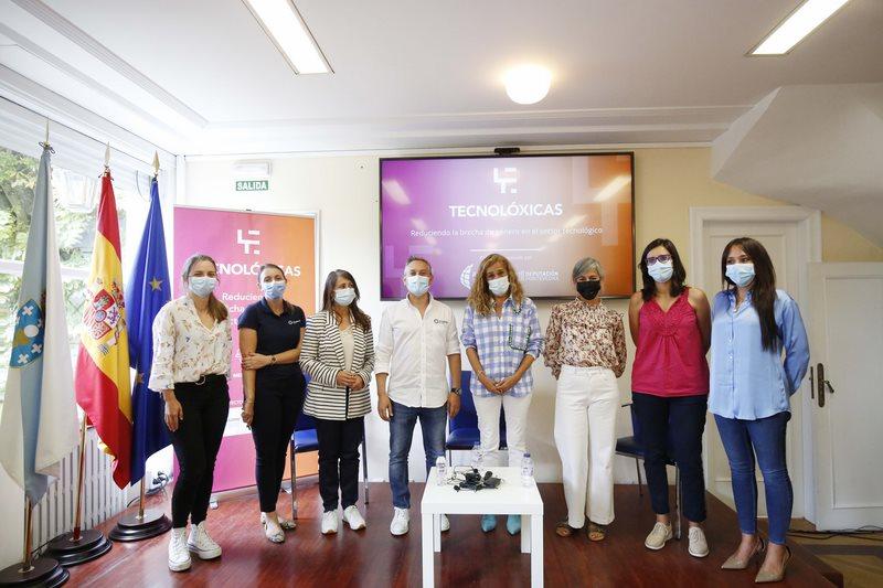 Tecnolóxicas, o proxecto de Asime e da Deputación de Pontevedra para situar a Galicia ao fronte da loita contra a fenda tecnolóxica de xénero