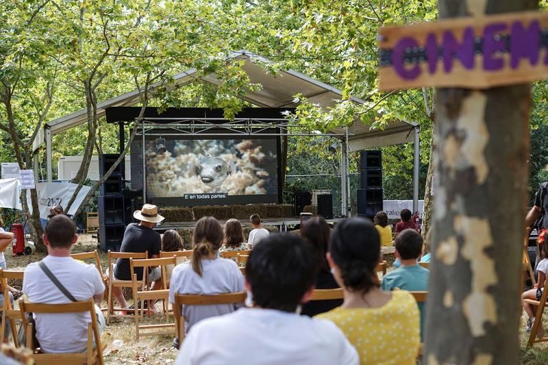 Así foi The Wild Cinema, un festival único de cinema medioambiental na natureza
