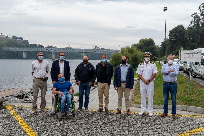 Tui acolle o Campionato de España de Radiocontrol Térmico con barcos a 120 kmh