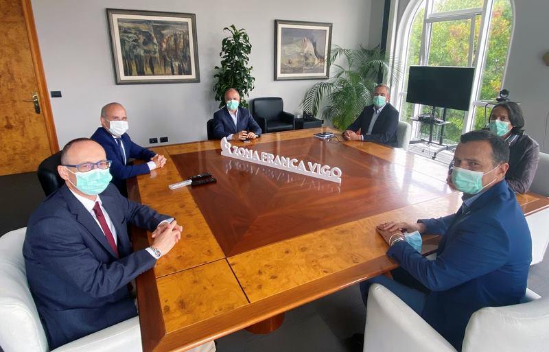 Zona Franca de Vigo e UNED exploran crear unha Cátedra e accións conxuntas no 50 aniversario da universidade a distancia